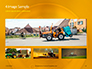 Closeup Photo of Yellow Vehicle Wheel with Tire Presentation slide 14