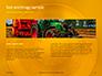 Closeup Photo of Yellow Vehicle Wheel with Tire Presentation slide 15