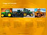 Closeup Photo of Yellow Vehicle Wheel with Tire Presentation slide 17