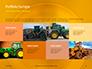 Closeup Photo of Yellow Vehicle Wheel with Tire Presentation slide 18