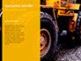 Closeup Photo of Yellow Vehicle Wheel with Tire Presentation slide 9