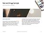 Smartphone on White Desk Presentation slide 14