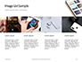 Smartphone on White Desk Presentation slide 16