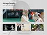 Fencer Girl Holding a Fencing Mask Presentation slide 13