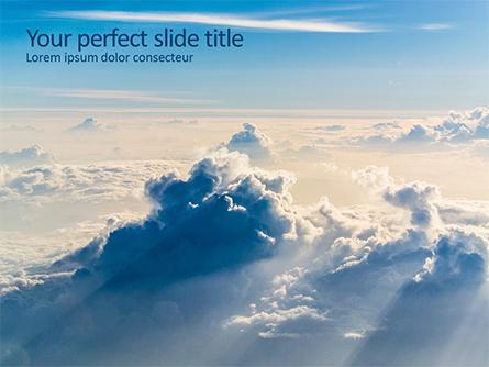 Clouds in the Sky Presentation Presentation Template, Master Slide