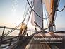 Sailboat Deck on Sunset Presentation slide 1