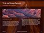 Swirling Sandstone Ravine Presentation slide 14
