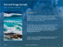 Aerial View of Sandy Beach and Ocean with Waves Presentation slide 15