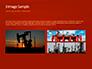 Oilfield Silhouette on Sunset Presentation slide 12