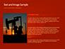 Oilfield Silhouette on Sunset Presentation slide 15