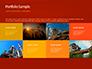 Oilfield Silhouette on Sunset Presentation slide 17