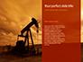 Oilfield Silhouette on Sunset Presentation slide 9