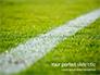 Green Field for Sport Games Presentation slide 1