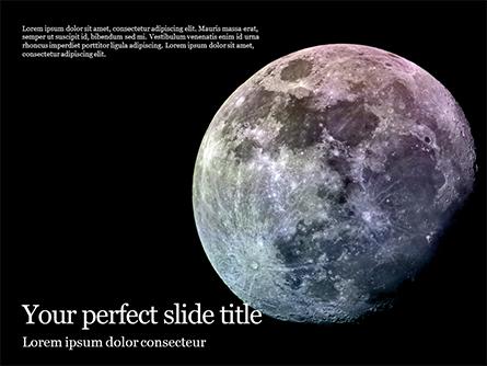 Natural Satellite of the Earth Presentation Presentation Template, Master Slide