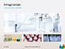 Three Assorted-Color Liquid-Filled Laboratory Apparatuses Presentation slide 13