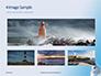 White Lighthouse Tower Under Blue Sky Presentation slide 13