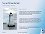 White Lighthouse Tower Under Blue Sky Presentation slide 15