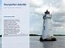White Lighthouse Tower Under Blue Sky Presentation slide 9