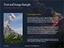 Volcano Eruption during Nighttime Presentation slide 15