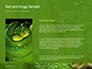 Emerald Python Coiled on Tree Presentation slide 15
