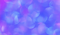 Blue and Purple Bokeh Lights Presentation Presentation Template