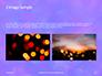 Blue and Purple Bokeh Lights Presentation slide 11