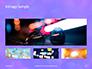 Blue and Purple Bokeh Lights Presentation slide 13
