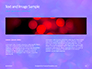 Blue and Purple Bokeh Lights Presentation slide 14