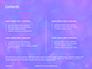 Blue and Purple Bokeh Lights Presentation slide 2