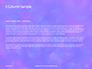 Blue and Purple Bokeh Lights Presentation slide 4