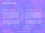 Blue and Purple Bokeh Lights Presentation slide 5