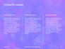 Blue and Purple Bokeh Lights Presentation slide 6