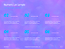 Blue and Purple Bokeh Lights Presentation slide 8