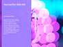 Blue and Purple Bokeh Lights Presentation slide 9