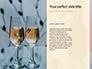 Two Prosecco Glasses Against a Sea Presentation slide 9
