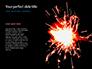 Person Holding Sparkler Presentation slide 9
