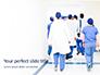 Back View of Team of Doctors and Nurses Presentation slide 1