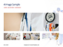 Back View of Team of Doctors and Nurses Presentation slide 13