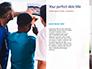 Back View of Team of Doctors and Nurses Presentation slide 9