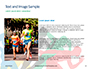 Colorful Silhouettes of Running Men and Women Presentation slide 15