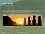Moai Standing in Easter Island Presentation slide 10