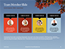 Maple Tree Branch in Autumn against Blue Sky Presentation slide 18