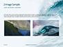 Blue Ocean Wave Presentation slide 11