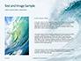 Blue Ocean Wave Presentation slide 15