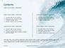 Blue Ocean Wave Presentation slide 2