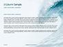 Blue Ocean Wave Presentation slide 4