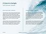 Blue Ocean Wave Presentation slide 5