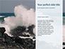 Blue Ocean Wave Presentation slide 9