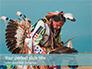 Native American Man Presentation slide 1
