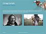 Native American Man Presentation slide 11